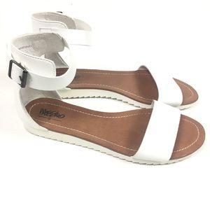White Minimalist Sandals